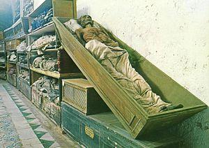 Catacombe dei Cappuccini - Image: New Corridor