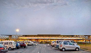 Islamabad International Airport the main international airport serving the Islamabad-Rawalpindi metropolitan area, 20 km outside them near the Kashmir Highway and Motorway Interchange