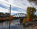 New light rail bridge over the South Platte River.jpg