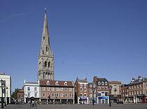 Newark on Trent UK Market Square.jpg