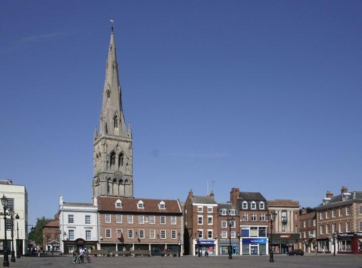 Newark on Trent UK Market Square