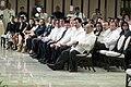 Newly-appointed officials listen as President Rodrigo Duterte delivers his speech.jpg