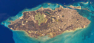 New Providence - Satellite image