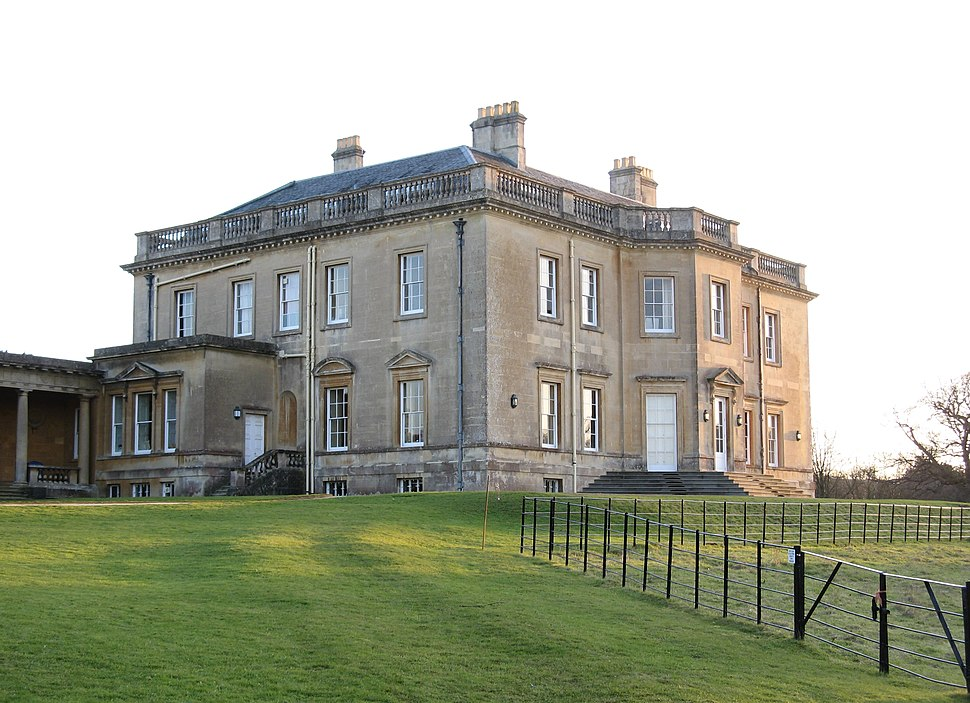 Newton Park house, from north