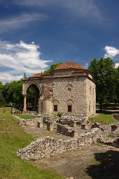 Dosya:Niš, pevnost, bývalá mešita.jpg