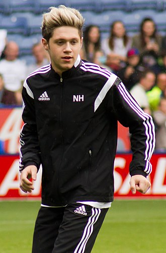 Niall Horan - Horan during his Charity Football Challenge at King Power Stadium in May 2014