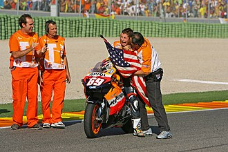 2006 Grand Prix motorcycle racing season - Nicky Hayden became the 2006 MotoGP world champion