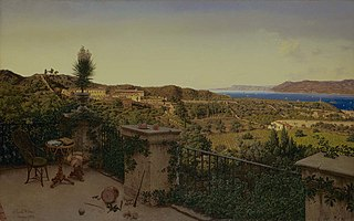 View of the Straits of Messina from a Country House