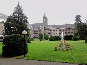 Berchmanianum - Image: Nijmegen Rijksmonument 523017 Berchmanianum Houtlaan 4 achteraanzicht