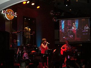 "Nina (Nina album) - Nina performing ""Someday"" on her gig at Hard Rock Cafe in 2010."