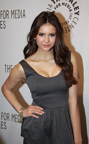 "Nina Dobrev at PaleyFest2010's ""The Vampi..."