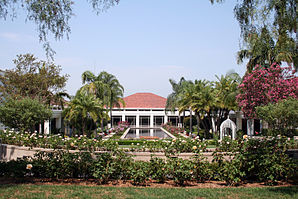Die Richard Nixon Library & Birthplace in Yorba Linda