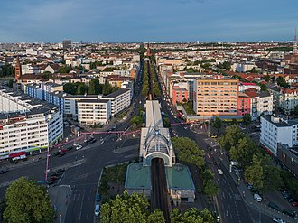 Nollendorfplatz - Aerial view