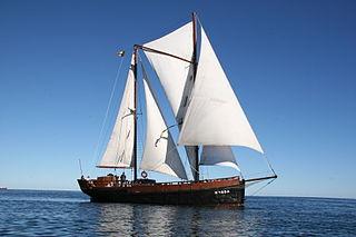 Wishbone rig ship type