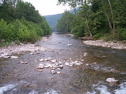 The North Fork South Branch below Seneca Rocks in Pendleton County, West Virginia North Fork South Branch Potomac River.jpg
