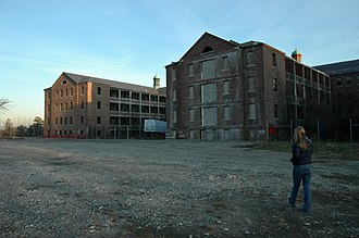 Northampton State Hospital - Hospital grounds in 2007