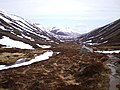 Northwards towards the Dubh Lochan and Fords of Avon from the Lairig an Laoigh path - geograph.org.uk - 781836.jpg