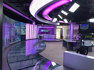 Northwestern University in Qatar - The University's fully automated newsroom features some of the most advanced technology in broadcast and production.