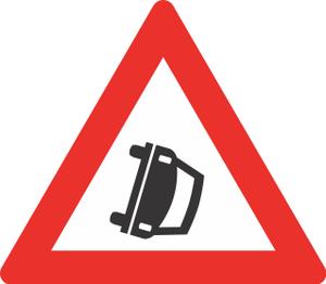 Road signs in Norway - Image: Norwegian road sign 153