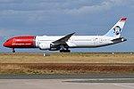 Norwegian (Tom Crean Livery), LN-LNS, Boeing 787-9 Dreamliner (44361812585).jpg