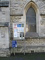 Notice board by the window - geograph.org.uk - 1634789.jpg