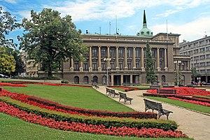 Novi dvor - Novi dvor - front view and main entrance