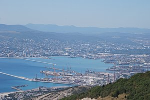 Port of Novorossiysk - Overview of the port, August 2010