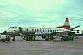 OE-LAK V.828 Viscount Austrian A-l MAN 14AUG66 (5659523446).jpg