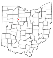 Location of Kirby, Ohio