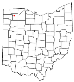 Location of Napoleon, Ohio