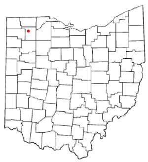 Napoleon, Ohio - Image: OH Map doton Napoleon