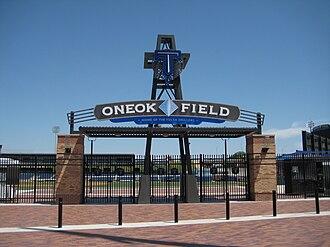 ONEOK Field - Image: ONEOK Field Entrance