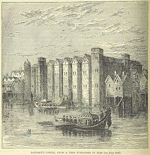 Baynard's Castle - Baynard's Castle in 1790
