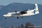 OO-VLF Fokker 50 (F27 Mark050)F50 -BCY (16925625037).jpg