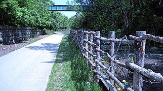Oak Leaf Trail - Image: Oak leaf trail milwaukee