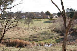 Sutton, New South Wales - Oak Hill, southwest of Sutton on Majura Lane