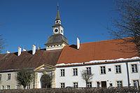 Oberschleißheim Altes Schloss Uhrturm 114.jpg