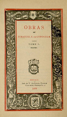 Manuel Eduardo de Gorostiza - Wikipedia, la enciclopedia libre