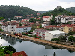 View of Obrovac