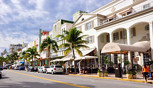 Ocean Drive (South Beach) - Image: Ocean drive day 2009j