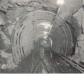 Ocoee Dam No. 3 - Ocoee No. 3's conduit tunnel