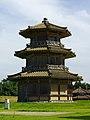 Octagonal Korou of Kukuchi Castle NW.jpg