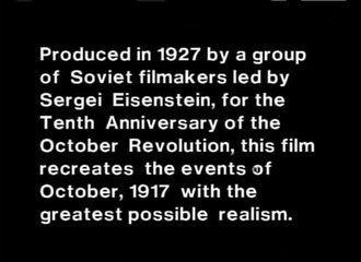 Файл:October Ten Days That Shook the World (1928).webm