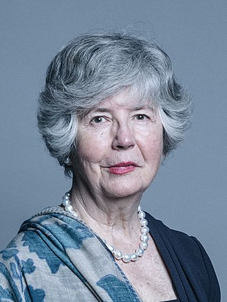 Sarah Hogg, Viscountess Hailsham - Image: Official portrait of Baroness Hogg crop 2