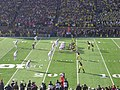 Ohio State vs. Michigan football 2013 12 (Michigan on offense).jpg