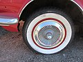 Old Dodge Lancer parked on Gallier Street, Bywater, New Orleans - Wheel Hubcap.jpg