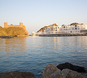 Al Jalali Fort - Fort and harbor in 2008