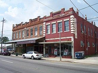 Plaquemine, Louisiana - Old Square