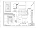 Old State Bank, Main Street and Route 13, Shawneetown, Gallatin County, IL HABS ILL,30-SHAWT,2- (sheet 5 of 6).png