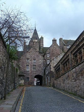 Wynd - Old Tolbooth Wynd in the Canongate, Edinburgh